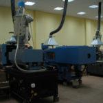 оборудование для производства деталей из пластика в форму на заказ