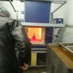 закалочная камерная печь