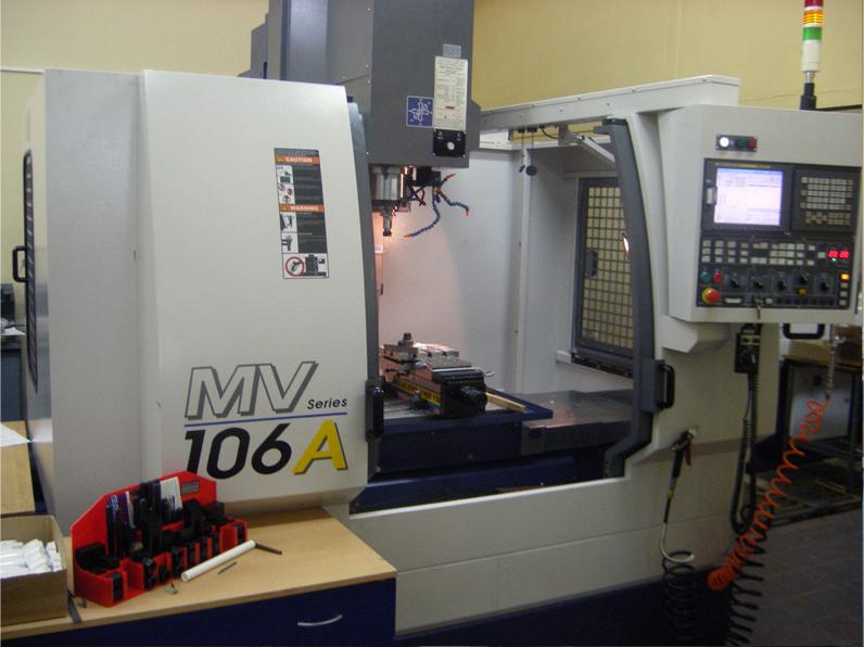 Фрезерный 3-х координатный обрабатывающий центр с ЧПУ MV 106A